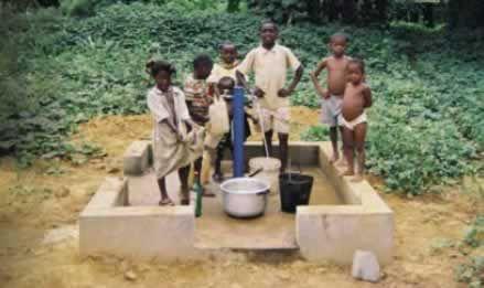 Recherche d'eau - réalisation de forage d'eau et de puits