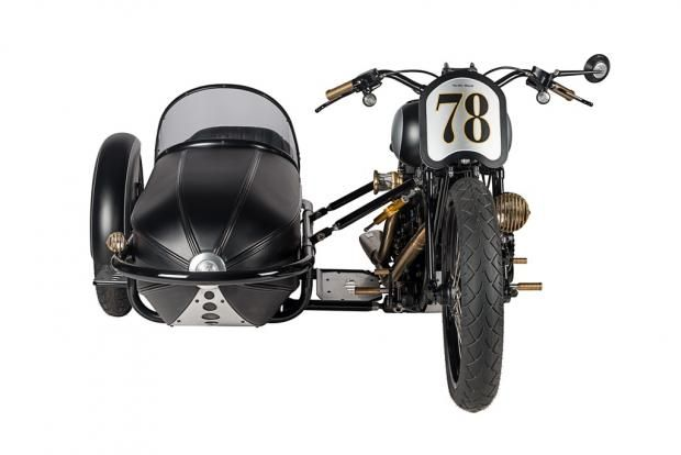 Studio shots of the Strike Back with Sidecar!