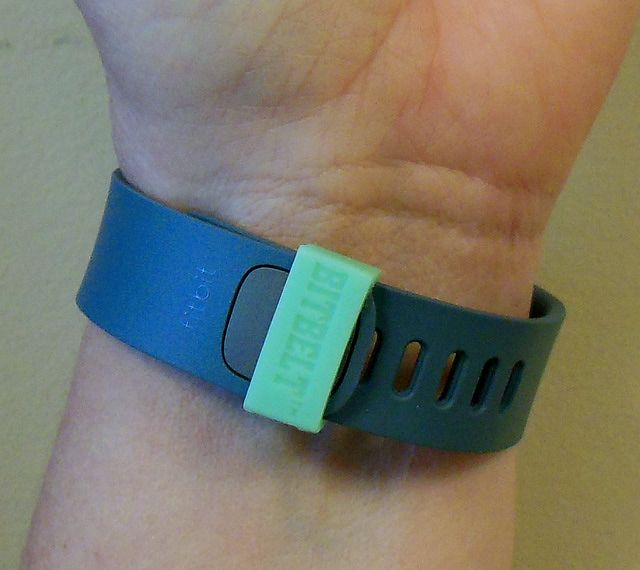 Bitbelt Prevents Losing Your Fitbit Fitness Monitor: Bitbelt on Fitbit Force