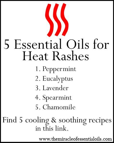 Discover the top 5 essential oils for heat rash below. A heat rash is a common skin condition that affects those who live in hot and humid areas. Just like