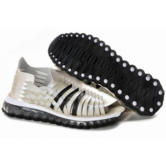 New Fashion Mens Jeremy Scott Adidas JS MEGA Softcell White Sandal For  $98.40 Go To: