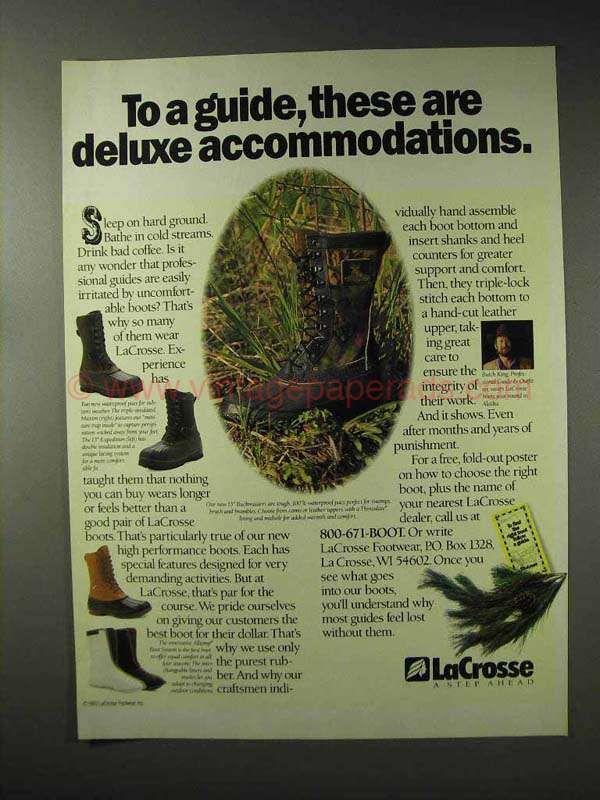BZ0040-1993 LaCrosse Boots Ad