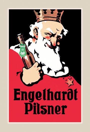 Engelhardt Pilsner 12x18 Giclee on canvas