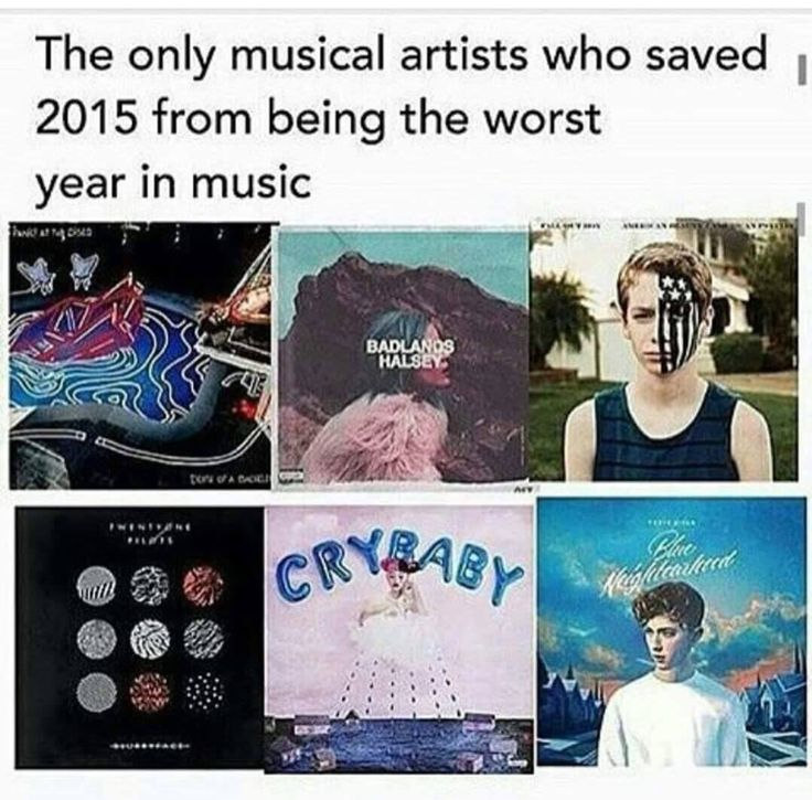 Panic! at the Disco, Halsey, Fall Out Boy, Twenty One Pilots, Melanie Martinez, and Troye Sivan