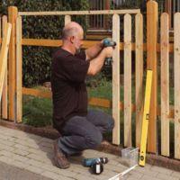 Забор деревянный своими руками
