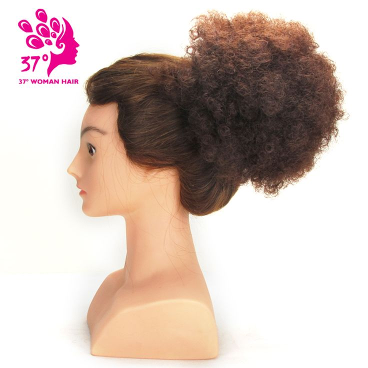 Dream Diana Synthetic hair Curly Chignon Bun Hairpiece Clip In Natural Color. Click visit to buy #SyntheticExtensions