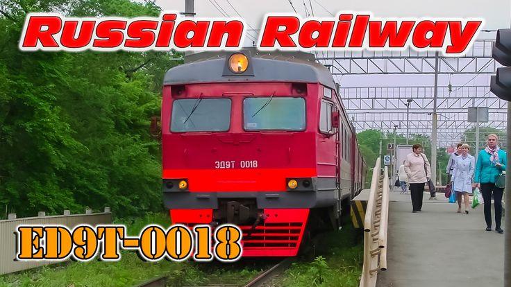 Full HD | Электропоезд ЭД9М-0018