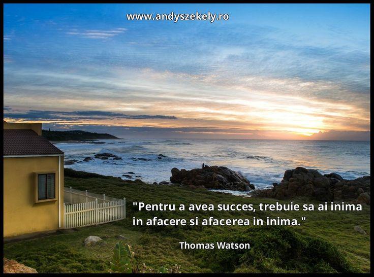 citat despre succes si afaceri thomas watson