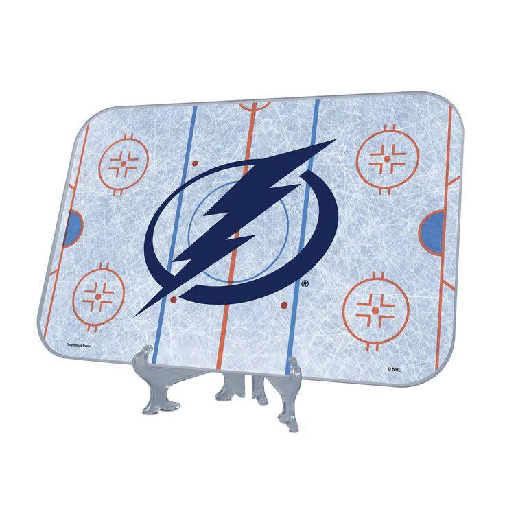 Tampa Bay Lightning Replica Hockey Rink Display, Multicolor