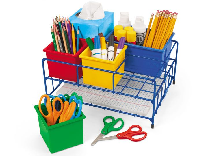 Lakeshore Classroom Decor ~ Backtoschool help yourself supply center at lakeshore