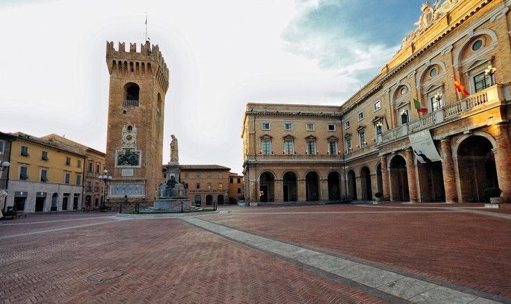 Recanati , province of   Macerata Marche region(   MC). Foto by maxboni