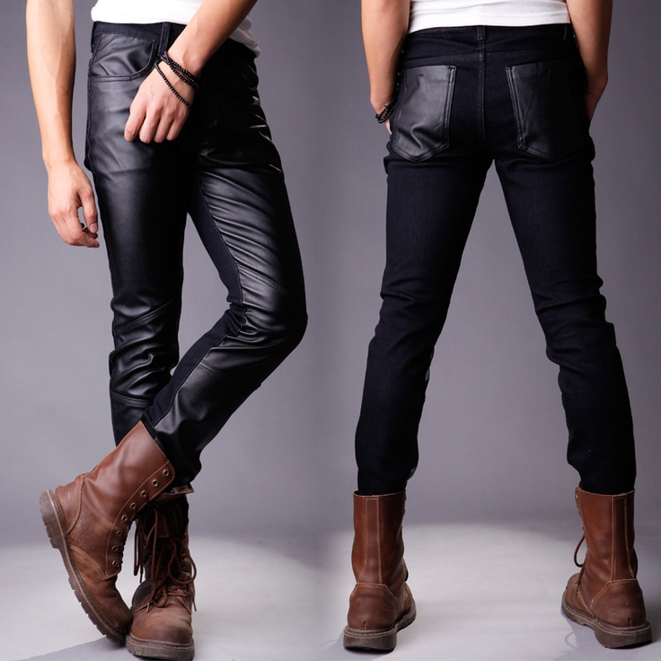 $58. // Item number: T16171426526. // Mens pants. material: pu leather, and others.  Size: M,L,XL.
