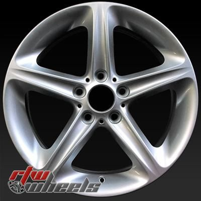 "BMW 135i oem wheels for sale 2008-2013. 18"" Silver rims 71261 - http://www.rtwwheels.com/store/shop/18-bmw-135i-oem-wheels-for-sale-silver-71261/"