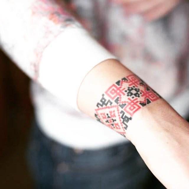 From facebook group Украінське Татуювання