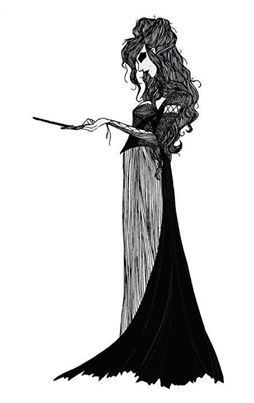 Bellatrix Lestrange from the Harry Potter series is this to Voldemort without technically being his wife. She actually has a husband named Rodolphus but is more infatuated with Voldy; Word of God has it that Bellatrix's and Rodolphus's marriage is loveless. Rodolphus is mentioned only briefly in the books and not included at all in the movies