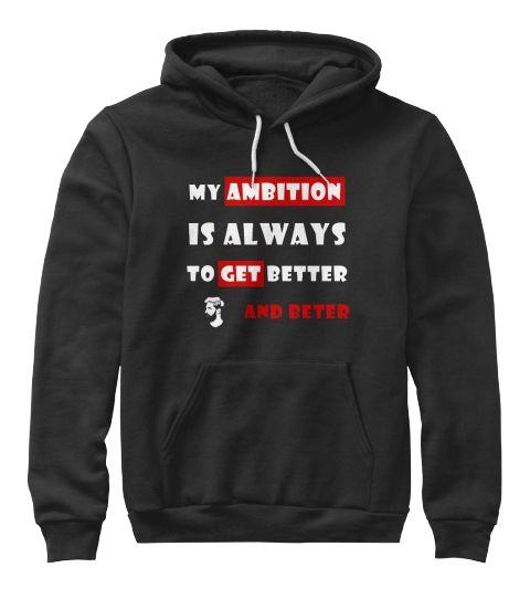 Best Football Quote  Black Sweatshirt