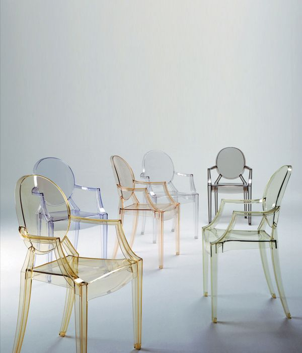 Louis Ghost stol Designer: Philippe Starck for Kartell