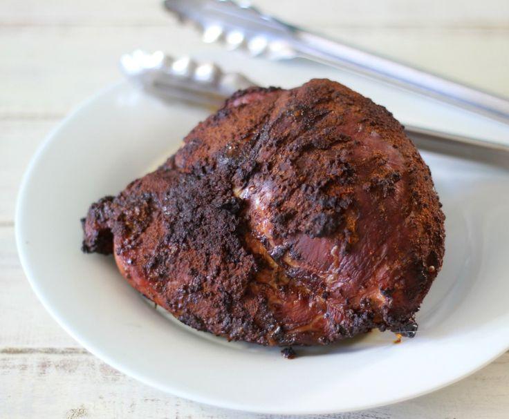 Smoked Pork Sirloin Tip Roast