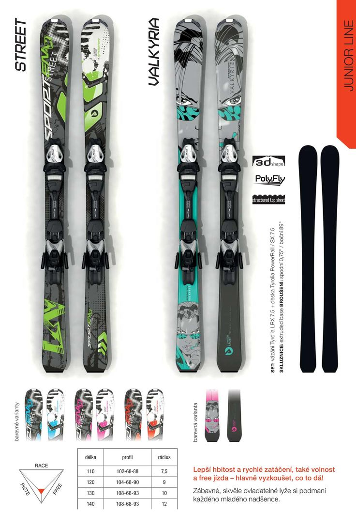 Sporten collection 2015/16 - junior skis