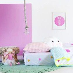 Bramwell Designs Loving Hearts Single Fitted Sheet