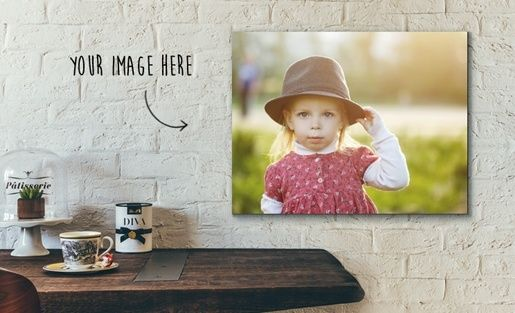 Win one of 3 x A2 Personalised Canvas Prints from Pixelpaint