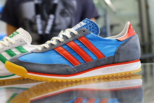 adidas SL 72 | Pool, Grey & Red - EU Kicks: Sneaker Magazine