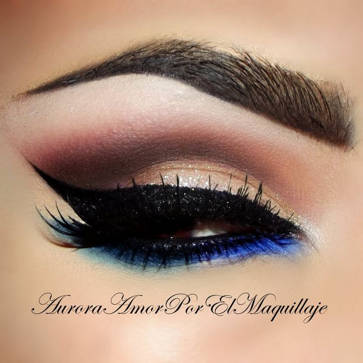 love this sexy edgy makeup <3 #MaquillateconAuroraG #preenme #auroramakeup