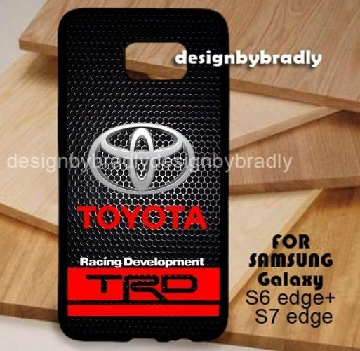 Toyota TRD Black Grill Car Samsung Galaxy S3 S4 S5 S6 S7 S8 Edge Plus Case #UnbrandedGeneric