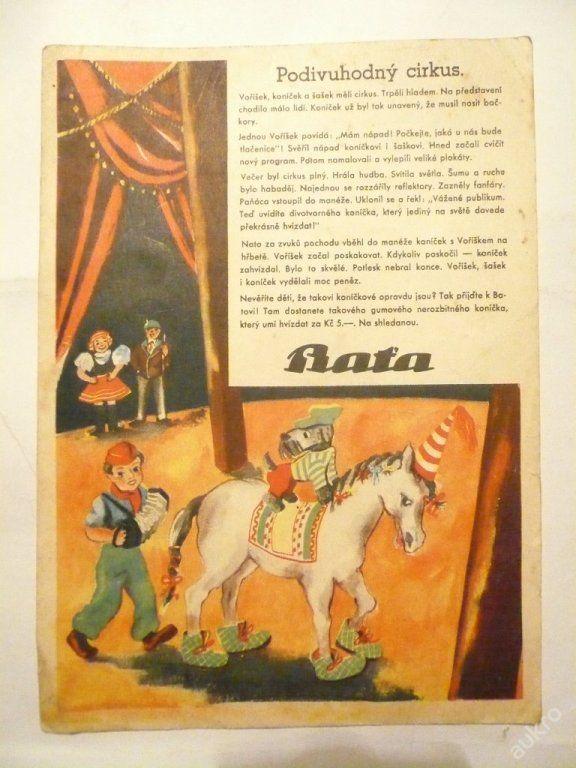 BAŤA - GUMOVÝ KONÍČEK za Kč 5. + reklama KRÉM !!! (6099894054) - Aukro - největší obchodní portál