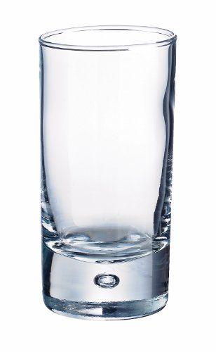 Durobor 347/09 Disco Amuse-Bouche/Verre à shot 90ml, 6 verre, sans repère de remplissage