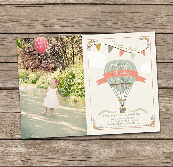 Hey, I found this really awesome Etsy listing at https://www.etsy.com/listing/182778325/hot-air-balloon-girl-birthday-invitation