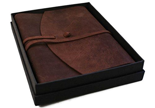 hochwertiges, handgefertigtes Fotoalbum aus Rustikalleder. Jedes Teil ein Unikat, in Geschenkbox. 40 beidseitig verwendbare Blätter, mit Zwischenblättern.