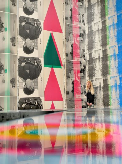 Turner Prize 2014 at the Tate Britain short listed Ciara Phillips screenprint artist