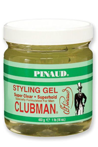 AOneBeauty.com - CLUBMAN Pinaud Styling Gel - Super Clear / Superhold (16oz), $7.97 (http://www.aonebeauty.com/clubman-pinaud-styling-gel-super-clear-superhold-16oz/)