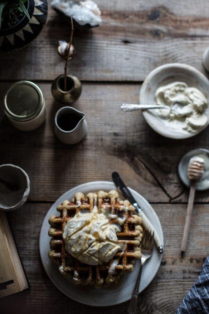Local Milk | earl grey waffles & whipped honey cream + 3 yrs of local milk