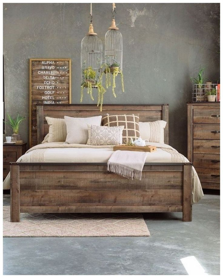 Best 44 Diy Rustic Modern King Bed Ideas Rusticbedroomideas 400 x 300