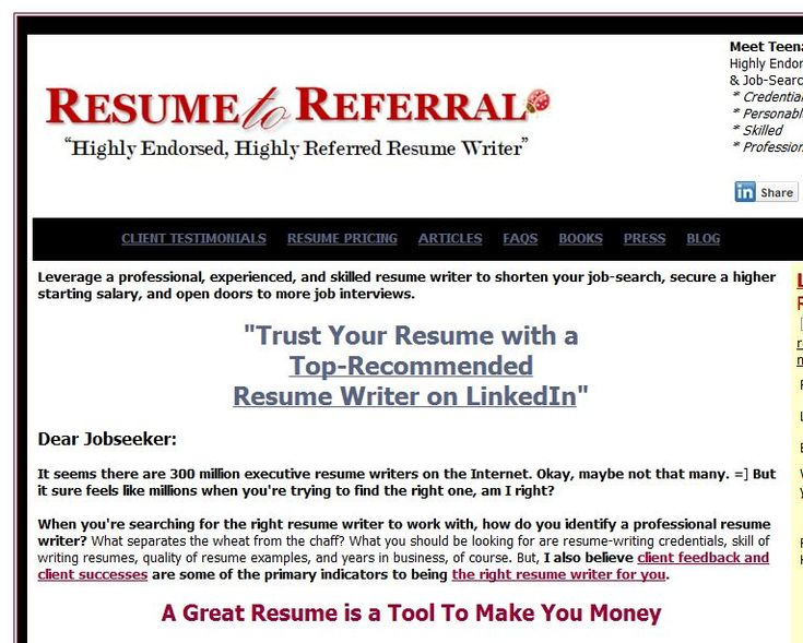 resume writing websites The rankings listed here are based on a thorough investigation of more than 50 different resume writing sites these rankings are adjusted from time to time as necessary, but the current top five are as follows:.