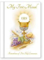 My First Missal Communion Book.