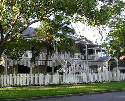 Traditional Queenslander home here in QLD - I love these front steps