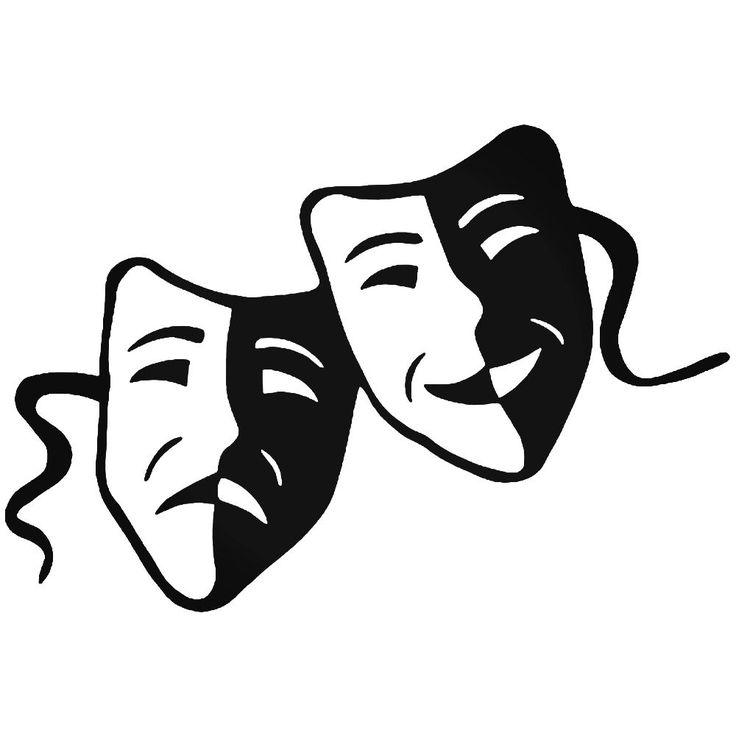 Черно-белые маски картинки