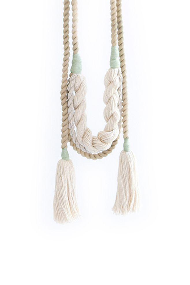 CAVE COLLECTIVE, Kelp Wrap Necklace I Mr. Larkin