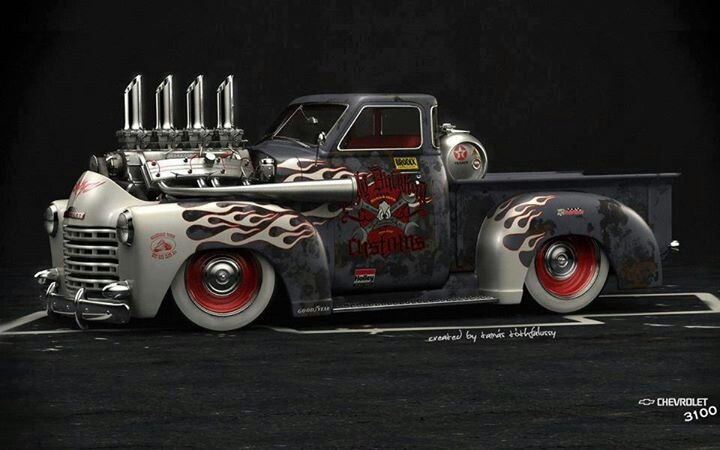 Not a true rat rod unless the rust is real and the grunge gets on you. This is just a nice truck.