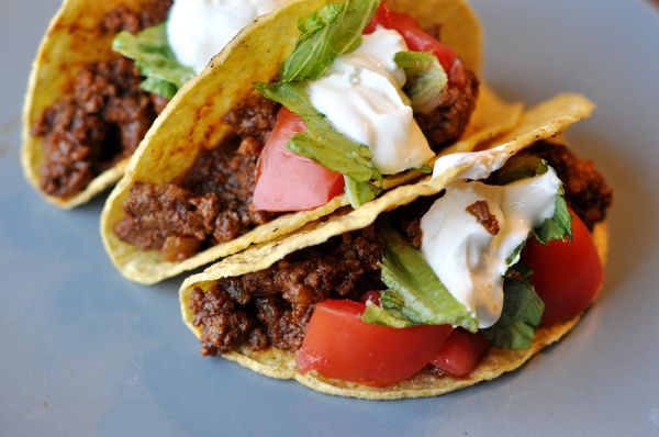The Best Ground Beef Tacos - tried 06/02/14 SAME if not better, than a packaged taco seasoning. I used a spoonful of tomato paste and some water instead of tomato sauce (which has sugar in it)