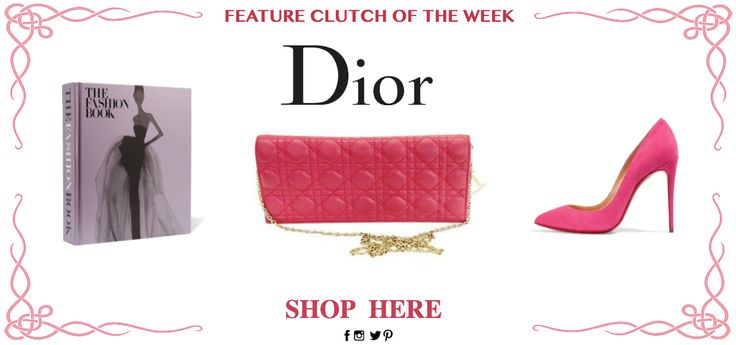 DIOR CANNAGE LADY CONVERTIBLE CLUTCH