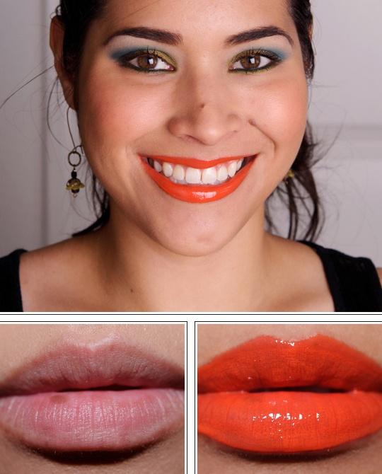 MAC Morange Lipglass, Lipstick, Nail Lacquer Review, Photos, Swatches