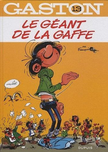 Gaston, Tome 13 : Le géant de la gaffe de André Franquin, http://www.amazon.fr/dp/2800145935/ref=cm_sw_r_pi_dp_O2lNrb1ZC2JC0