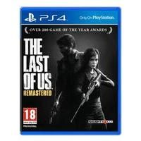 The Last of Us Remastered on PS4