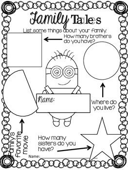 Back to School Memory Book {Minion Themed} K-G1