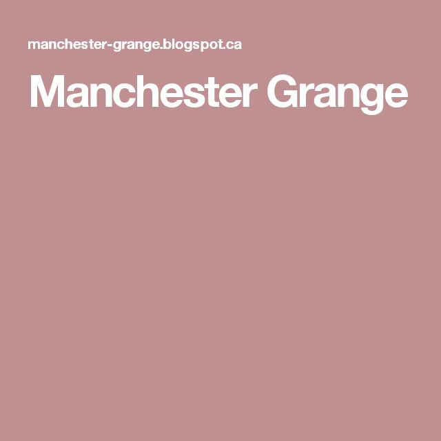 Manchester Grange