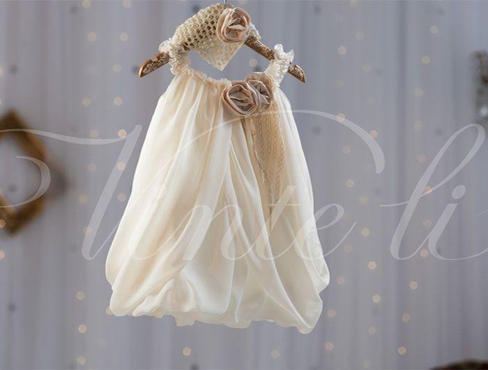 Βαπτιστικά ρούχα, φόρεμα Vinte li μπαλούν 2507